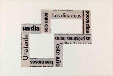 Litografía Macchi - Las Horas