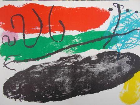 Litografía Miró - L'astre De Patagon