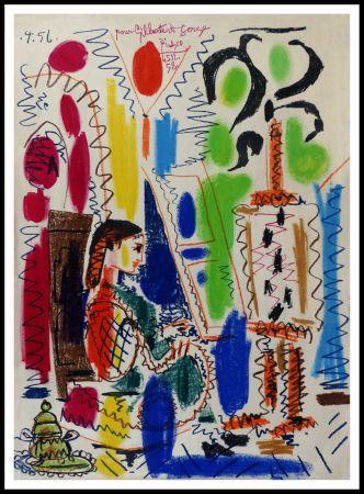 Litografía Picasso - L'atelier de CANNES