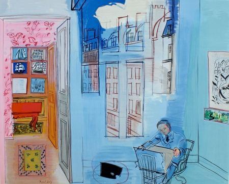 Litografía Dufy - L'atelier de Impasse Guelma