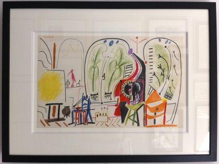 Litografía Picasso - L'atelier de la Californie