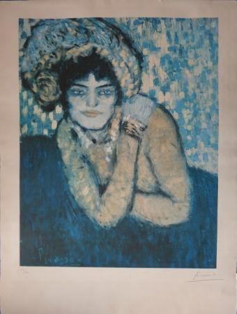 Litografía Picasso - L'attente / The wait (Barcelone Suite)