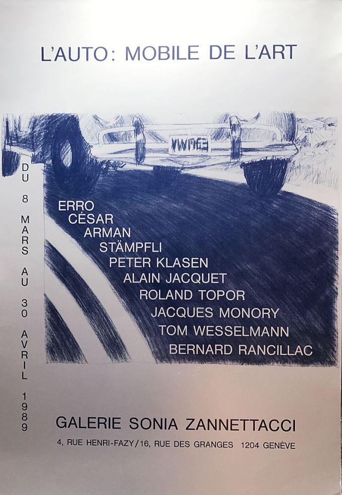 Serigrafía Cesar - L'Auto: Mobile de l'Art