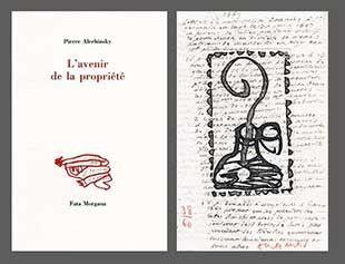 Libro Ilustrado Alechinsky - L'avenir De La Propriété