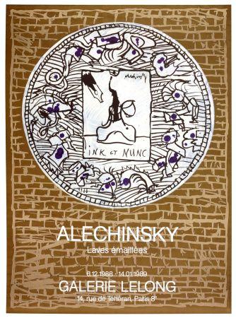 Cartel Alechinsky - Laves émaillés