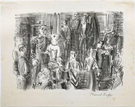 Litografía Dufy - Le Bal chez L'Amiral