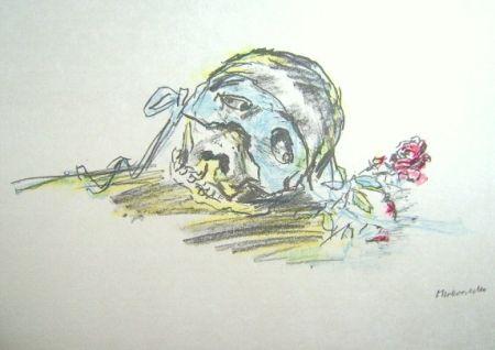 Litografía Kokoschka - Le Bal Masqué
