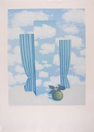 Litografía Magritte - Le Beau Monde - The Beautiful World