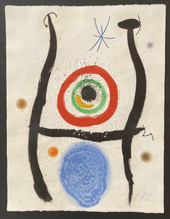 Aguafuerte Y Aguatinta Miró - Le Bleue de la Cible