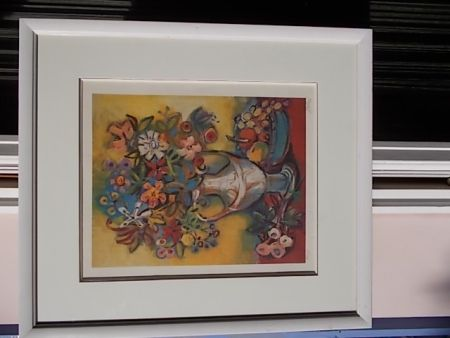 Litografía Bolorè  - Le Bouquet