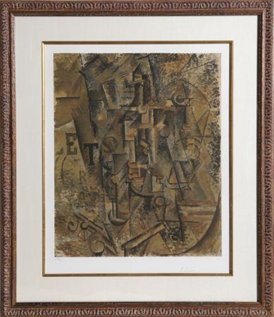 Colografía Picasso - Le Bouteille de Rhum