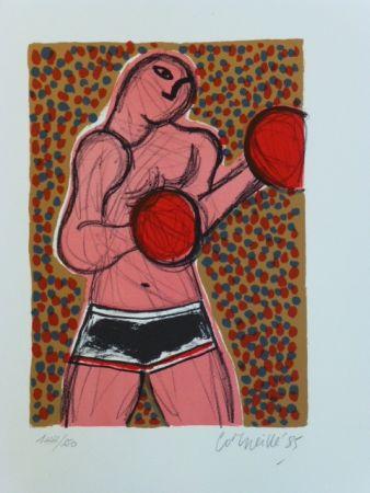 Litografía Corneille - Le Boxeur