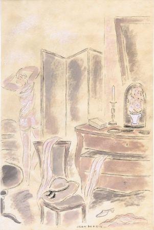 Libro Ilustrado Berque - Le bruit du silence.  Gouaches originales de Jean Berque.