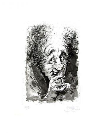 Aguafuerte Y Aguatinta Blanchard - Le buveur