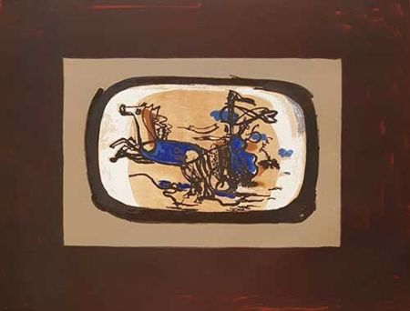Litografía Braque - Le Char