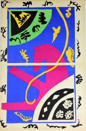 Litografía Matisse - Le Cheval L'Ecuyere et le Clown de la serie Jazz
