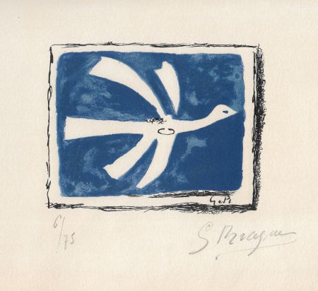 Litografía Braque - Le ciel bleu