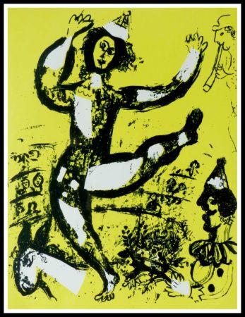 Litografía Chagall - LE CIRQUE