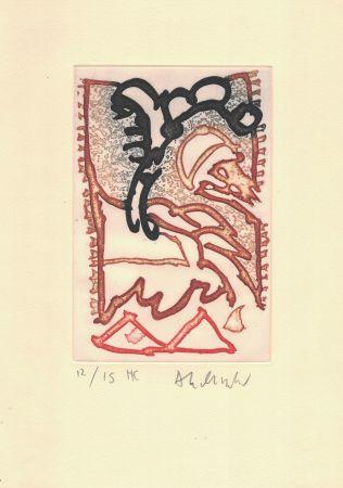Grabado Alechinsky - '' Le Cirque ''