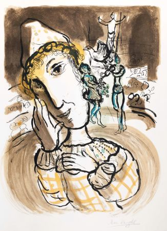 Sin Técnico Chagall - Le cirque au Clown jaune