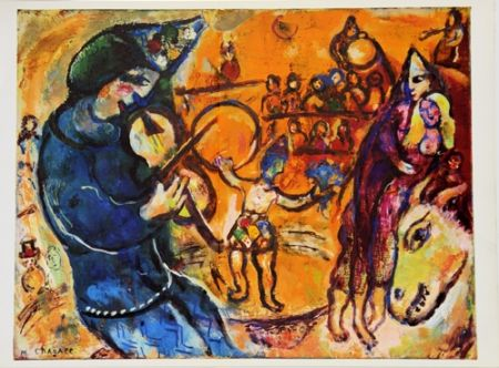 Offset Chagall - Le Cirque D'izis