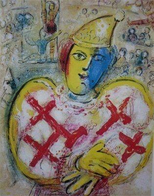 Litografía Chagall - Le Cirque, planche  10