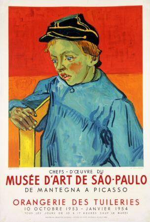 Litografía Van Gogh - Le Colegien, Musée D'Art de Sao Paulo