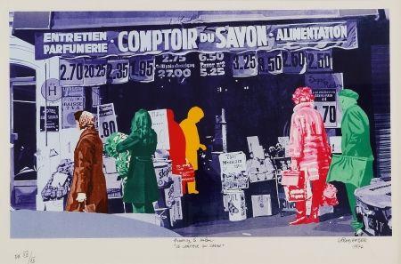 Serigrafía Fromanger - Le Comptoir du Savon