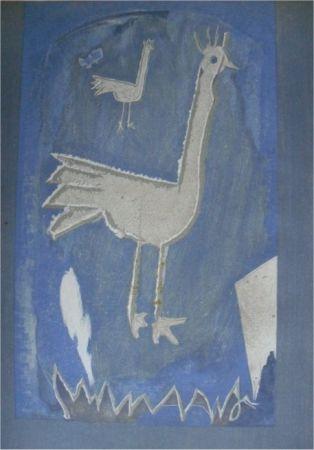 Litografía Braque - Le Coq