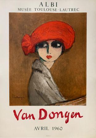 Litografía Van Dongen - Le Coquelicot