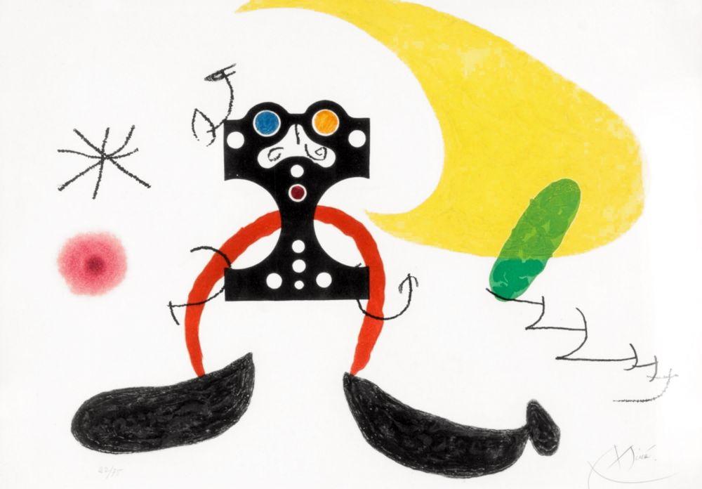Carborundo Miró -  Le Cosmonaute
