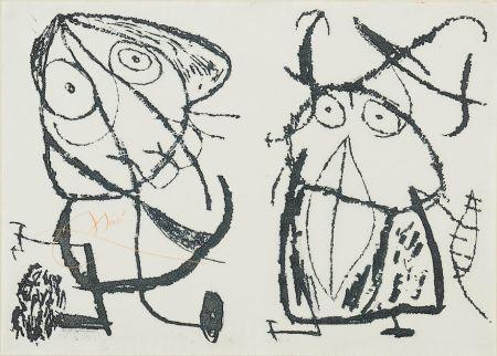 Aguafuerte Y Aguatinta Miró - Le Courtisan Grotesque