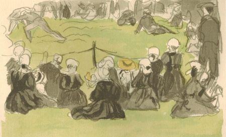 Libro Ilustrado Denis - Le crépuscule sur la mer.  Illustrations de Maurice Denis.