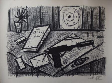 Litografía Buffet - Le Dahlia Noir