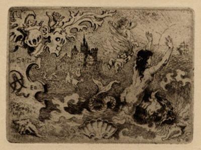 Libro Ilustrado Buhot - Le diable amoureux