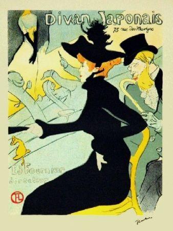 Litografía Toulouse-Lautrec - Le divan japonais