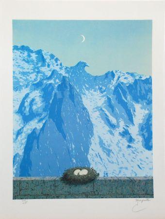 Litografía Magritte - Le Domaine d'Arnheim
