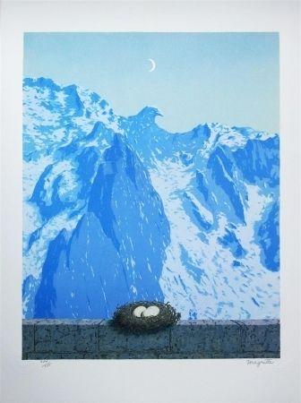 Litografía Magritte - Le Domaine d'Arnheim (The domain of Arnheim)