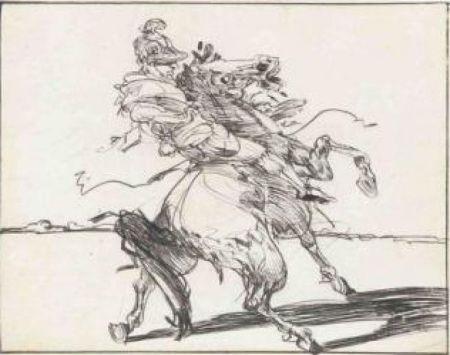 Grabado Weisbuch - Le Dragon