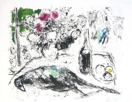 Litografía Chagall - Le faisan