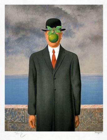 Litografía Magritte - Le fils de l'homme