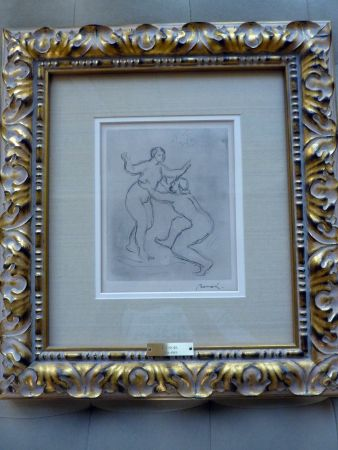 Grabado Renoir - Le Fleuve Scamandre