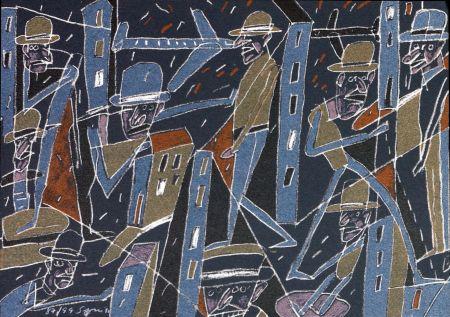 Litografía Segui - Le froid bleu des contre nuits 4