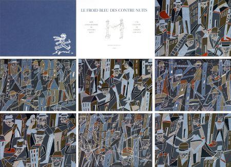 Litografía Segui - Le froid bleu des contre nuits 7