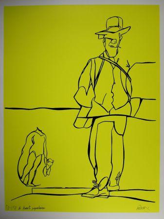 Litografía Adami - Le front populaire