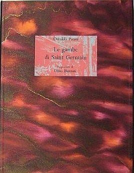 Libro Ilustrado Buzzati - Le gambe di Saint Germain