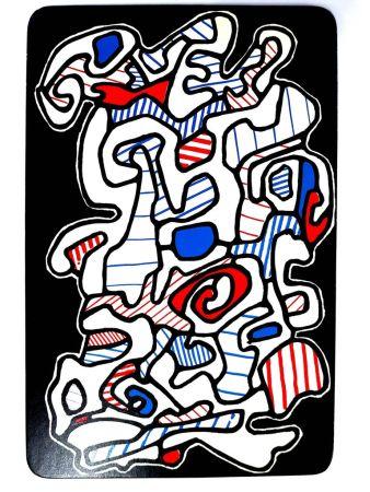 Litografía Dubuffet - Le Gitan