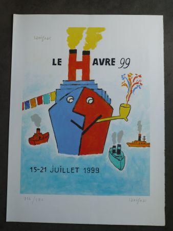 Litografía Savignac - Le Havre 1999