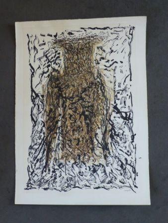 Litografía Riopelle - Le hibou VII