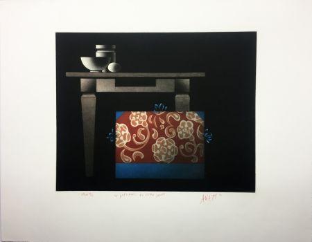 Aguatinta Avati - Le Japonais du Père Sagot (1974)